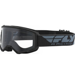 FLY RACING FLY RACING FOCUS GOGGLE BLACK W/CLEAR LENS