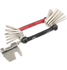 Crank Brothers Crank Brothers M Series Multi Tool 19 Black & Red