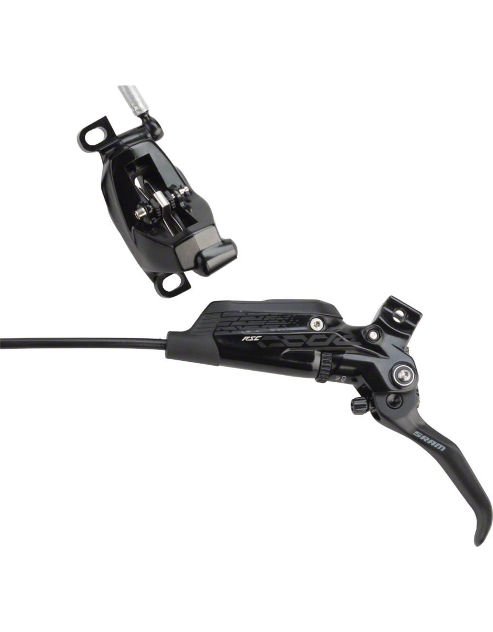 SRAM SRAM Code RSC Disc Brake and Lever - Front or Rear, Hydraulic, Post Mount, Black, A1