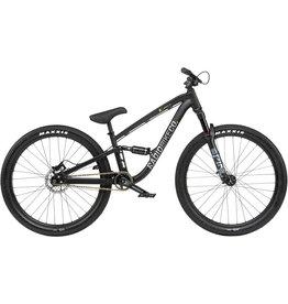 "Radio Radio Siren 26"" Dirt Jump Bike - 22.8"" TT, Matt Black"