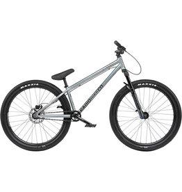 "Radio Radio Asura Pro 26"" Dirt Jump Bike - 22.7"" TT, Spectral Silver"