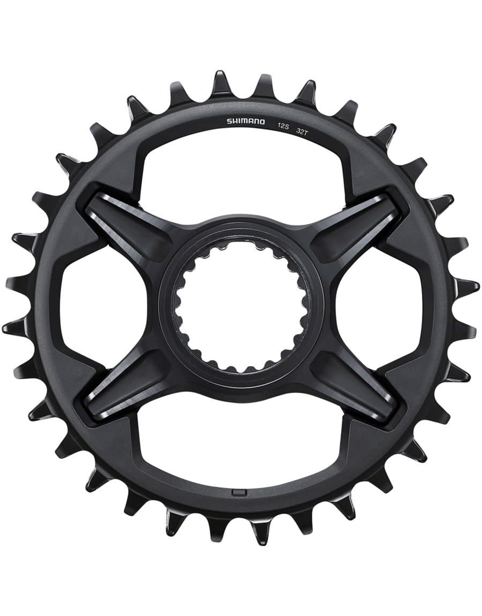 Shimano Shimano XT SM-CRM85 32t 1x Chainring for M8100 and M8130 Cranks, Black