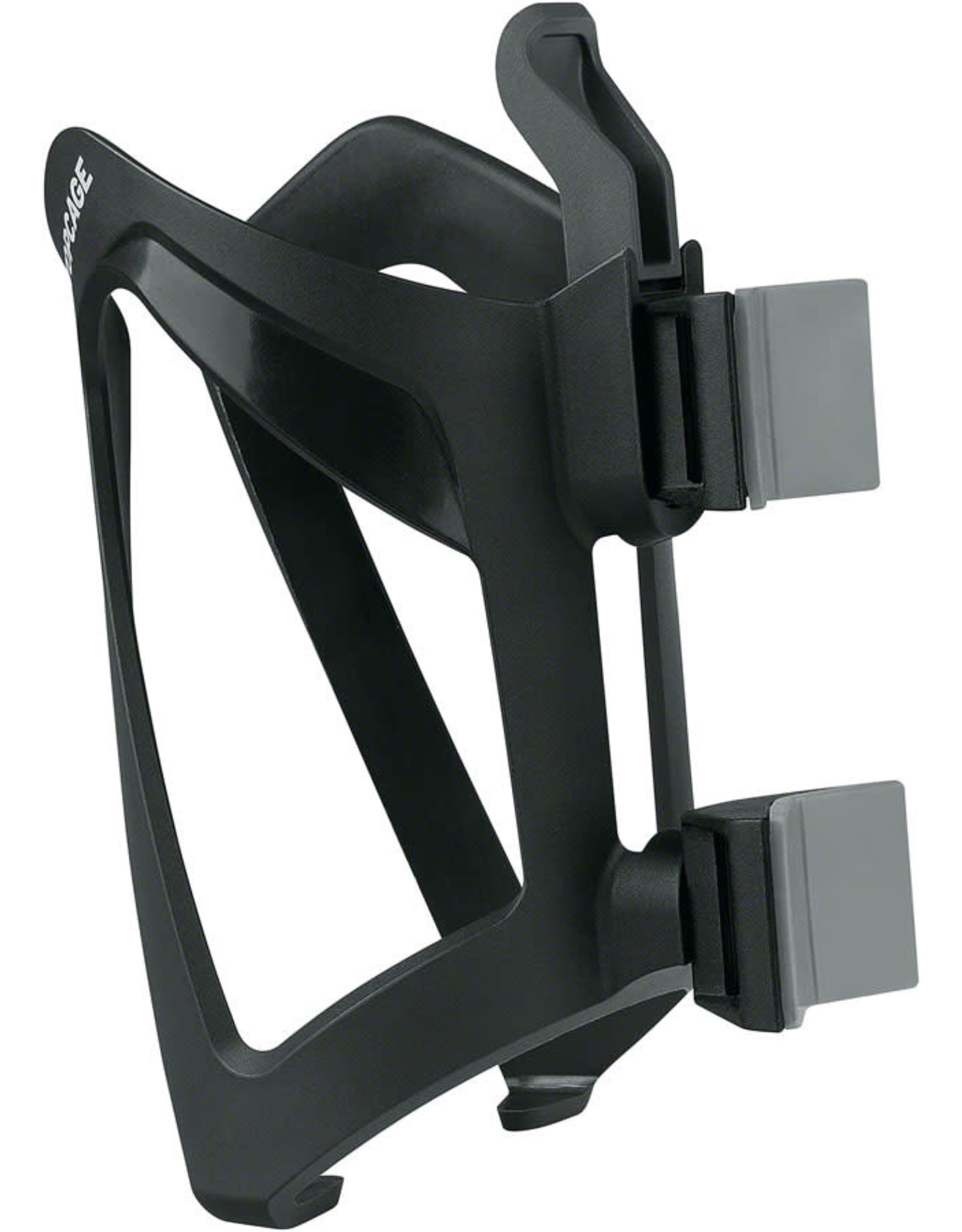 SKS SKS Anywhere Mount Topcage Water Bottle Cage - Strap-On, Black
