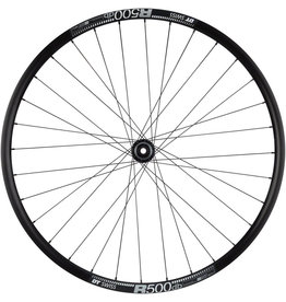 Quality Wheels RS505/DT R500 - 700, 12 x 142mm, Center-Lock, HG 11, Black, Disc Rear Wheel