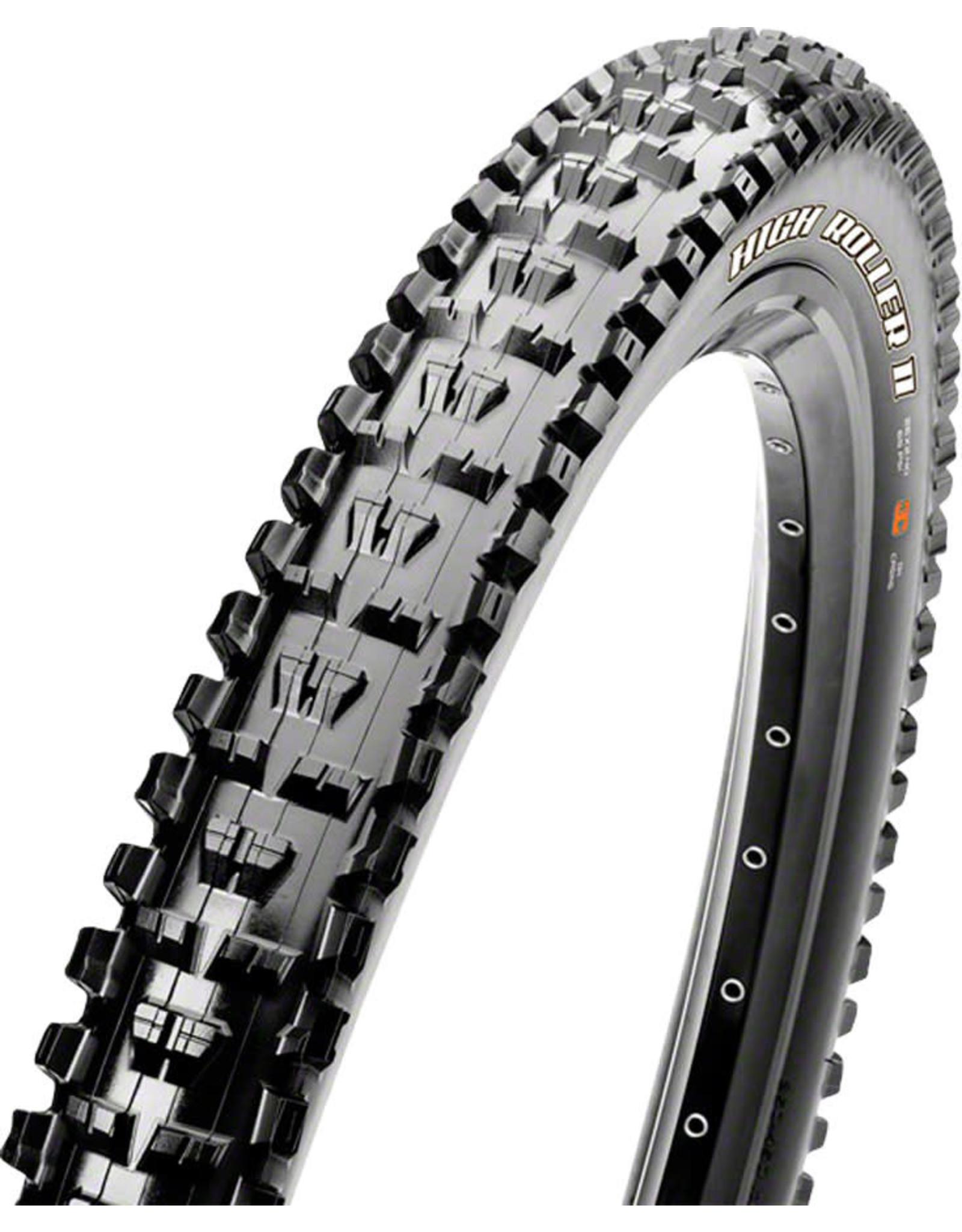 Maxxis Maxxis High Roller II Tire - 26 x 2.3, Tubeless, Folding, Black, Dual, EXO
