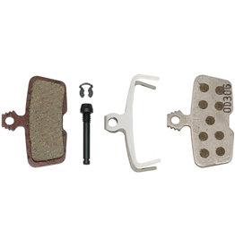 SRAM SRAM Disc Brake Pads - Organic Compound, Aluminum Backed, Quiet/Light, For Code/Code R/Code RSC/Guide RE