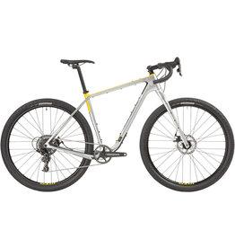 """Salsa Salsa Cutthroat Carbon Apex 1 Bike - 29"""", Carbon, Silver"""