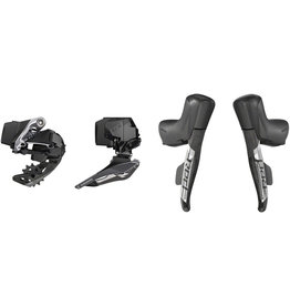 SRAM Red eTap AXS 2X D1 Electronic Road Groupset (Shifters, Rear 33T Max Der and battery, Front Der and battery, Charger and cord, and Quick Start Guide)