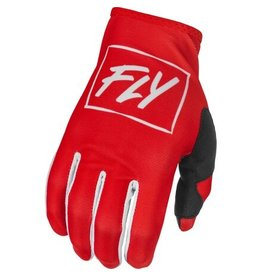 FLY RACING 2022 FLY Racing Lite Gloves Red/White