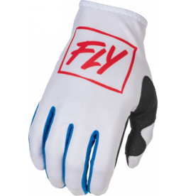 FLY RACING 2022 FLY Racing Lite Gloves Red/White/Blue