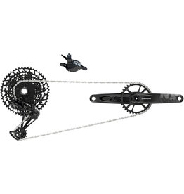 SRAM SRAM NX Eagle Groupset: 170mm 32 Tooth DUB Crank, Rear Derailleur, 11-50 12-Speed Cassette, Trigger Shifter, and Chain
