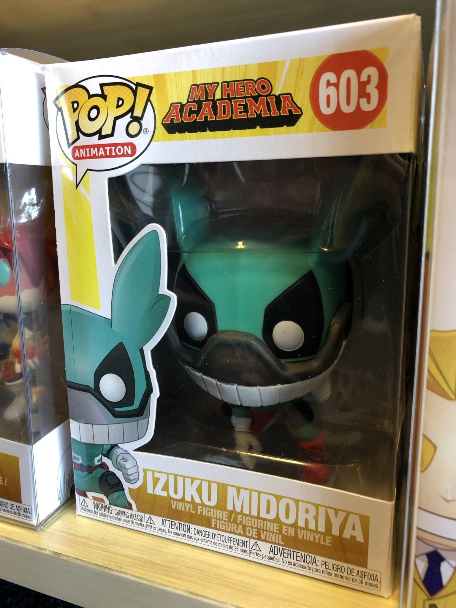Funko My Hero Academia: Izuku Midoriya Funko POP! #603