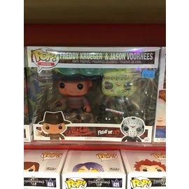 Funko Horror: Freddy Krueger and Jason Voorhees Funko POP! 2-Pack