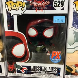 Funko Spider-Man Into the Spider-verse: Miles Morales PX Previews Exclusive Funko POP! #529