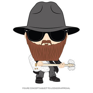 Funko ZZ Top: Billy Gibbons Funko POP! (PREORDER)