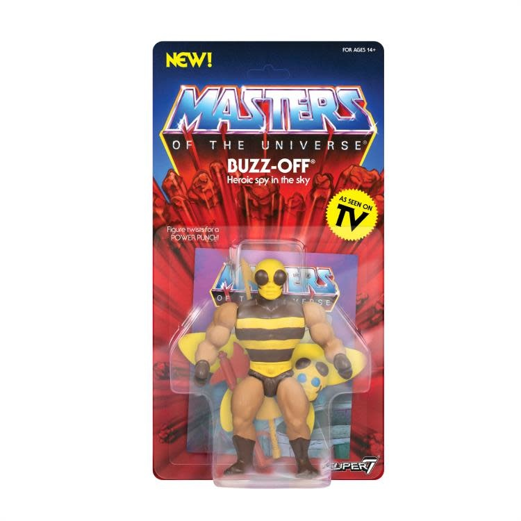 Super 7 Masters of the Universe: Buzz-Off 5.5 (Filmation)