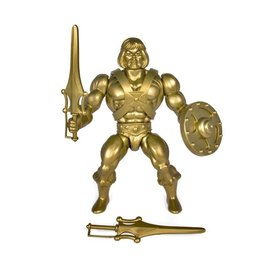 Super 7 Masters of the Universe: Gold Statue He-Man 5.5 (Filmation)