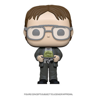Funko The Office: Dwight w/ Gelatin Stapler Funko POP! (PREORDER)