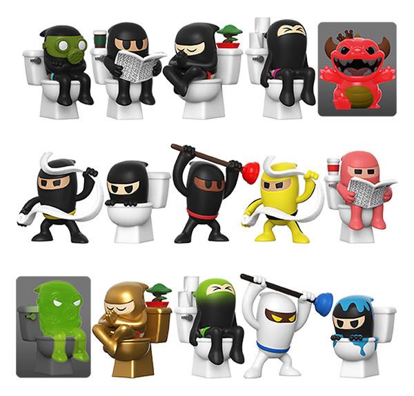 Funko Paka Paka: Toilet Ninjas Blind box