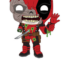 Funko Marvel Zombies: Deadpool Funko POP! #661