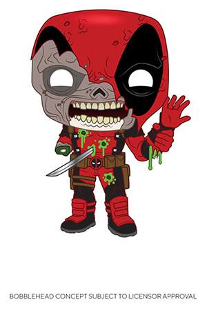 Funko Marvel Zombies: Deadpool Funko POP! #661