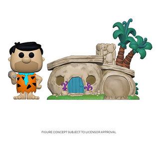 Funko Flintstones: Fred Flintstone with Home Funko POP! Town #14