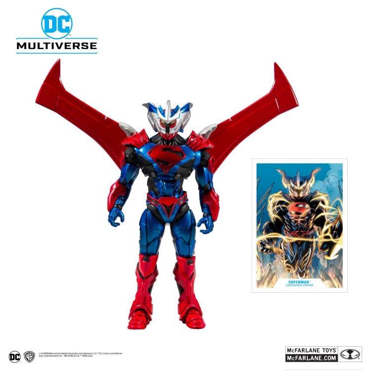 "DC Multiverse: Superman (Unchained Armor) 7"" Figure"