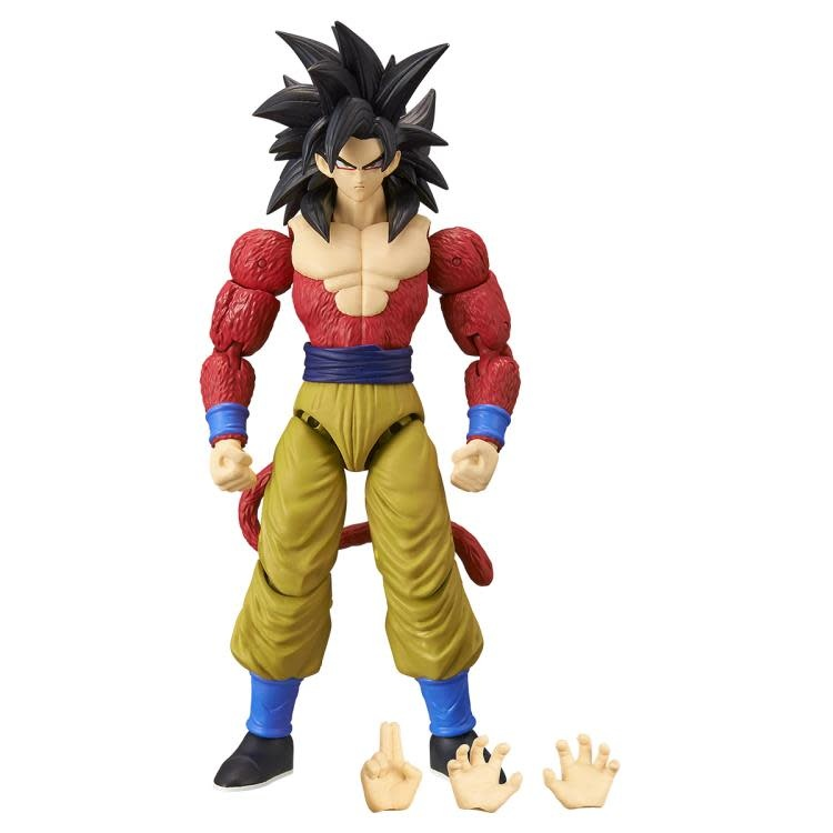 "Bandai Dragon Ball Stars: Super Saiyan 4 Goku 6"" Figure"