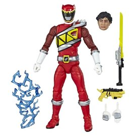 """Hasbro Power Rangers Lightning Collection: Dino Charge Red Ranger 6"""" Figure"""