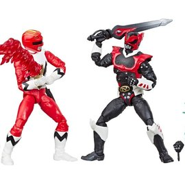 """Hasbro Power Rangers Lightning Collection: Lost Galaxy Red Ranger and In Space Psycho Red Ranger 6"""" Figure 2 Pack"""