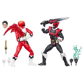"Hasbro Power Rangers Lightning Collection: Lost Galaxy Red Ranger and In Space Psycho Red Ranger 6"" Figure 2 Pack"