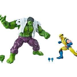 "Hasbro Marvel Legends: 80th Wolverine and Hulk 6"" Figure 2-pack"