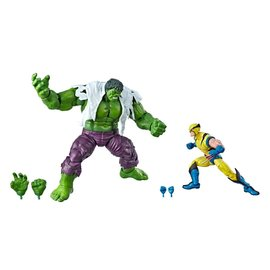 "Hasbro Marvel Legends: 80th Wolverine and Hulk 6"" Figure 2-pack"