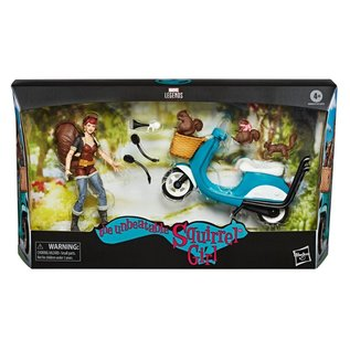 """Hasbro Marvel Legends: The Unbeatable Squirrel Girl: Squirrel Girl and Vehicle 6"""" Figure"""