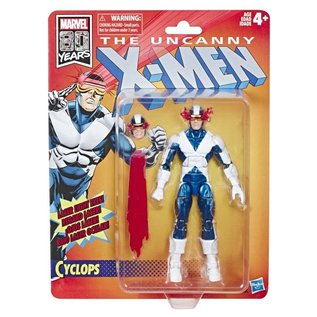 "Hasbro Marvel Legends: X-Men Cyclops Retro Carded 6"" Figure"