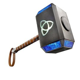 Hasbro Marvel Legends: Thor Mjolnir Hammer Electronic Prop Replica