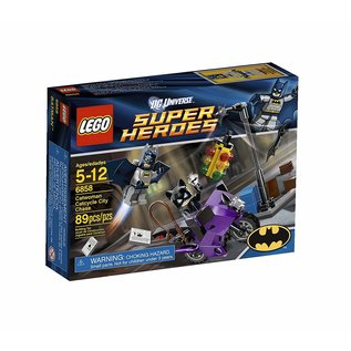 Lego Lego Superheroes 6858 Catwoman Catcycle City Chase