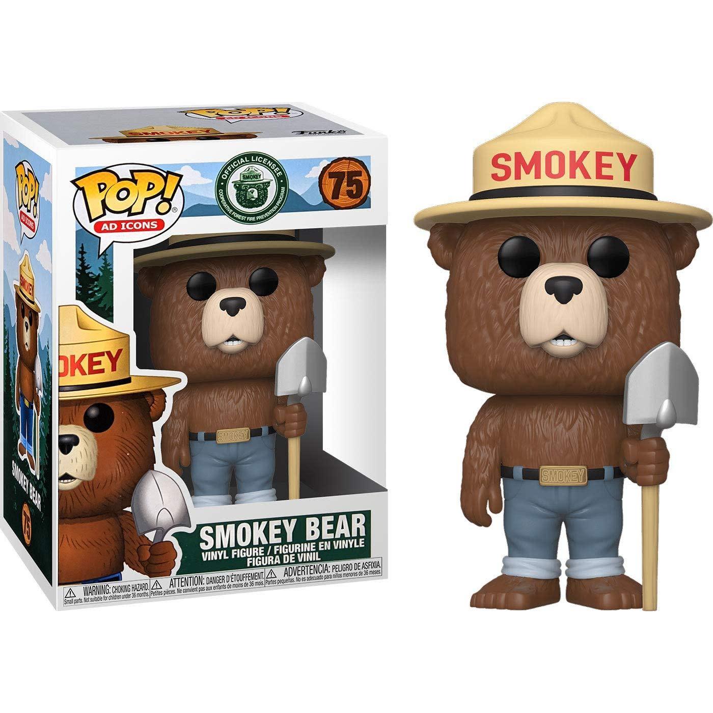 Funko Ad Icons!: Smokey the Bear Funko POP! #75