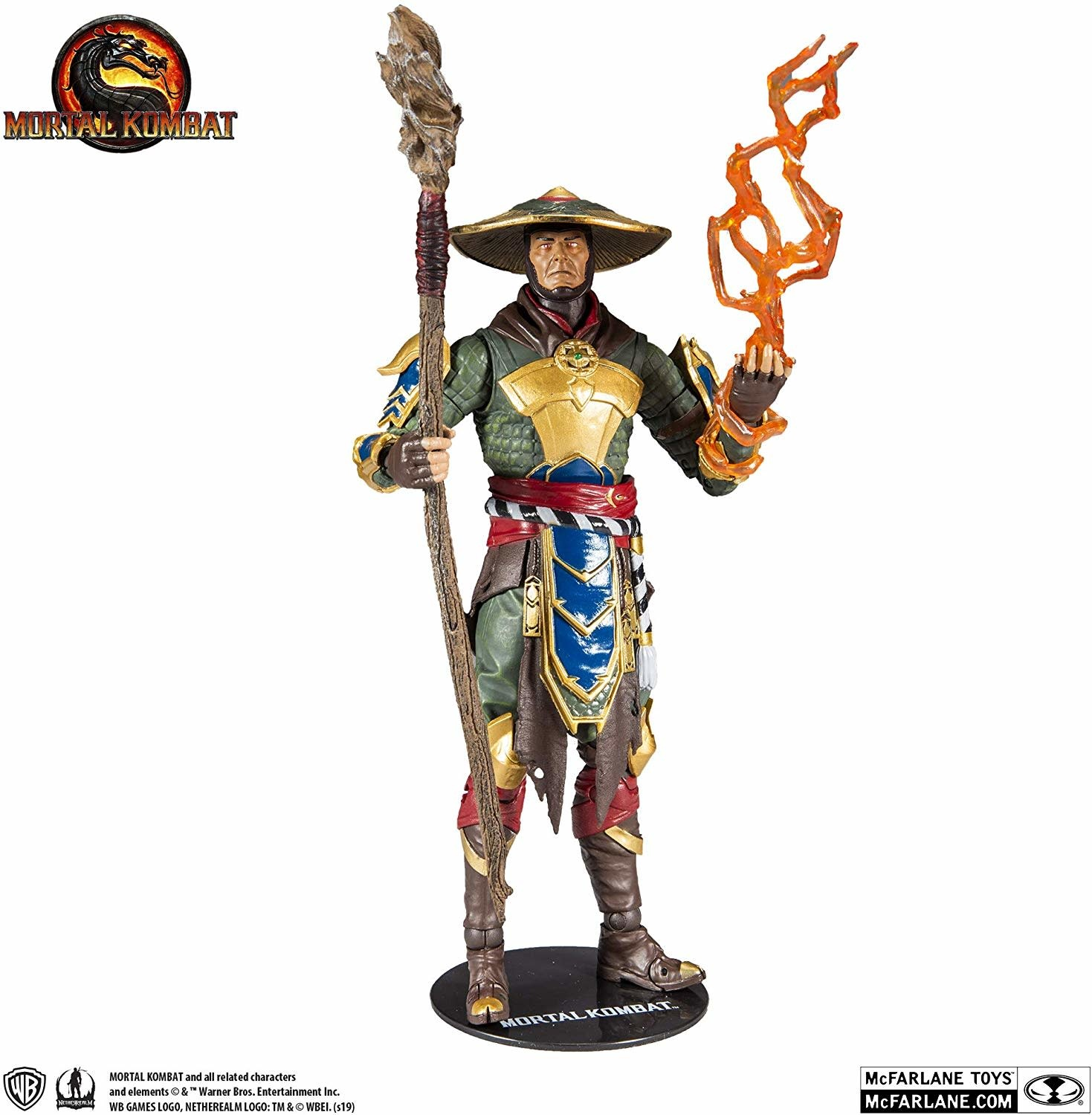 "Mortal Kombat: Raiden ""Merciless Guardian"" 7"" Figure"