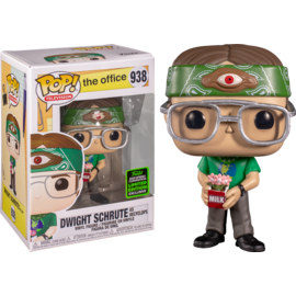Funko The Office: Dwight Schrute as Recyclops 2020 Spring Convention Shared Exclusive Funko POP! #938