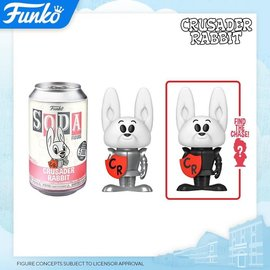 Funko Soda: Crusader Rabbit 5,000 PC Limited Edition with 1:6 Chance of Chase