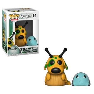 Funko Wetmore Forest: Slog with Grub Funko POP! #14 (NO chance for chase)