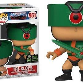 Funko Masters of the Universe: Tri-Klops 2020 Emerald City Comic Con Exclusive Sticker Funko POP! #951