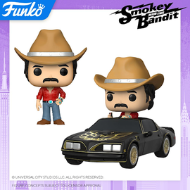 Funko Smokey and the Bandit: POP! Ride and Common POP!