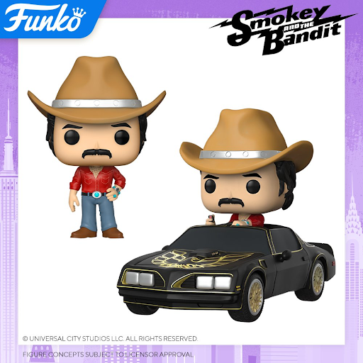 Funko Smokey and the Bandit: POP! Ride and Common POP! (PREORDER)