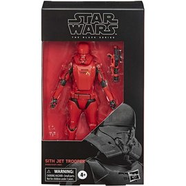 "Hasbro Star Wars: Sith Jet Trooper 6"" Black Series Figure"