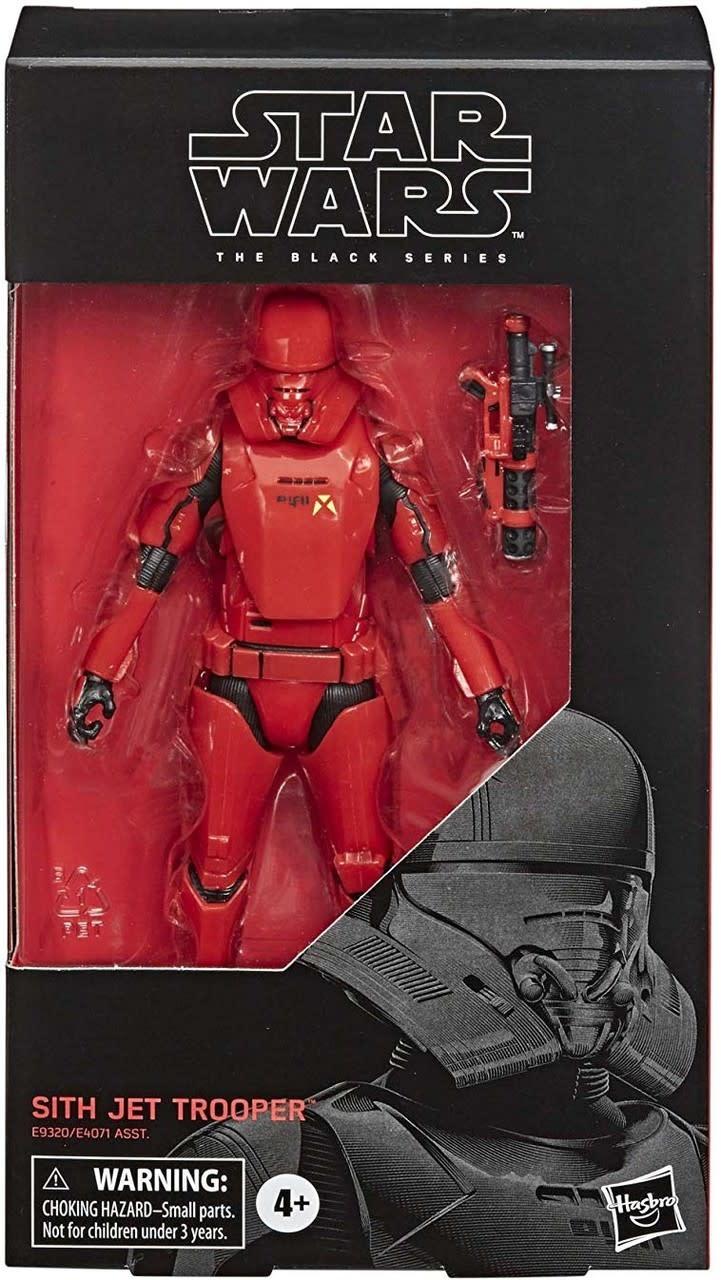 "Hasbro Star Wars Black Series: Sith Jet Trooper 6"" Figure"