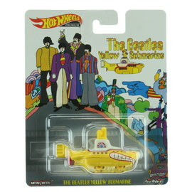 Mattel The Beatles: Yellow Submarine Hot Wheels