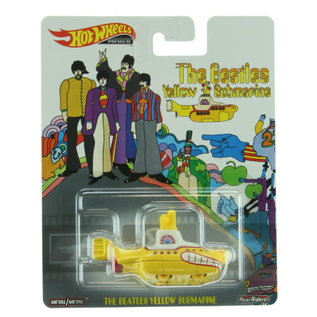 Mattel The Beatles: Yellow Submarine Hot Wheels