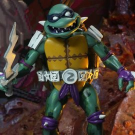 NECA Turtles in Time: Slash Figure